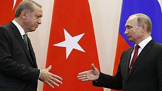Síria: Putin e Erdogan concordam na necessidade de solução política