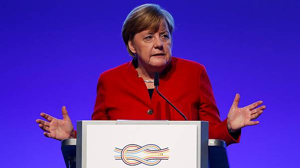 Germany's Chancellor Merkel warns against protectionism ahead of G20 summit