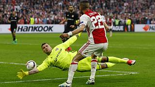 Europa League: Ajax beat Lyon 4-1 in first league of semi-final