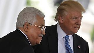 Trump reassures Abbas at the White House