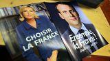 نکات برجسته مناظره تلویزیونی لوپن و مکرون همزمان با پخش زندۀ آن در فرانسه