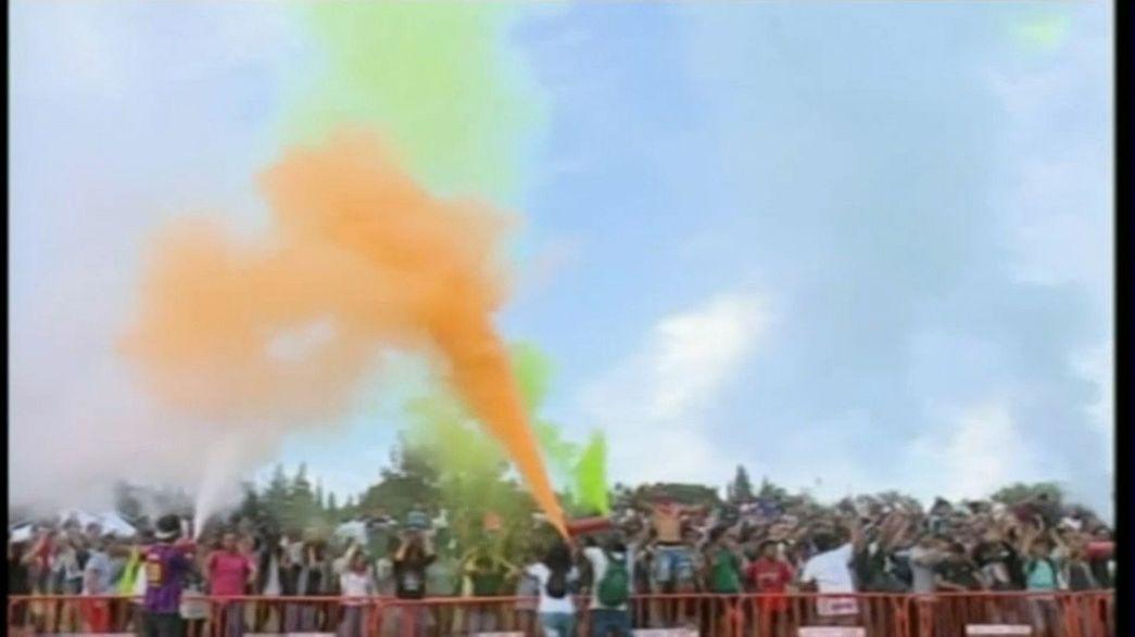 مهرجان الألوان في تونس بهدف تشجيع السياحة