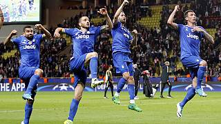 Juventus eye Champions League final after 2-0 win at Monaco