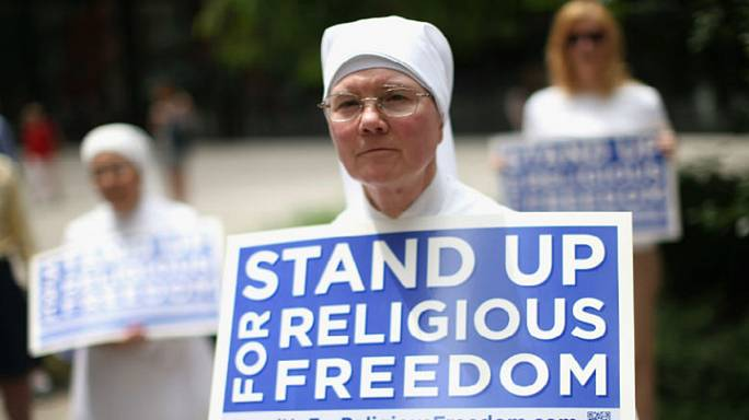 Trump poised to pick a fight over religious liberty vs. gay rights