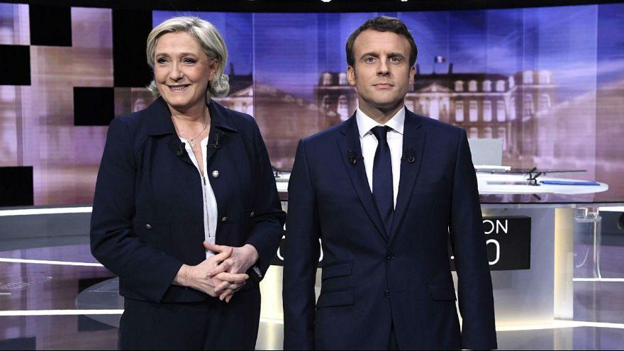 الرئاسيات الفرنسية: مناظرة تلفزيونية ساخنة بين ماكرون ولوبان