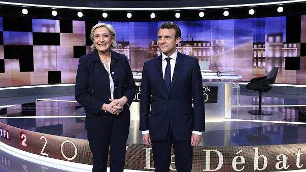 Clash statt Dialog: Durch Le Pens Attacken gewinnt Macron das TV-Duell