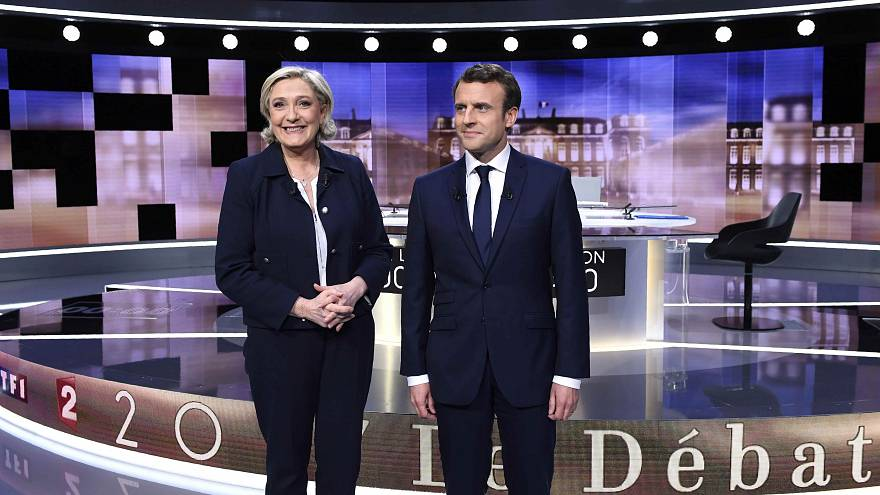 Arguments and insults in fiery French presidential debate