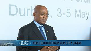 Afrique du Sud - Durban : coup d'envoi du Forum économique mondial