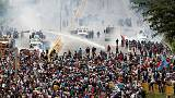 Kétszáz sérült és egy halott a venezuelai kormányellenes tüntetésen