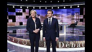 اتهامات متبادلة وأسلوب تهجمي في آخر مناظرة لمرشحي الرئاسة الفرنسية