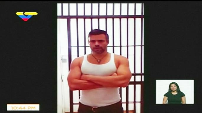 Venezuelan officials release 'proof of life' video of jailed opposition leader