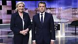 مناظره تلویزیونی مارین لوپن و امانوئل ماکرون: حملات تند کاندیداهای دور دوم انتخابات فرانسه