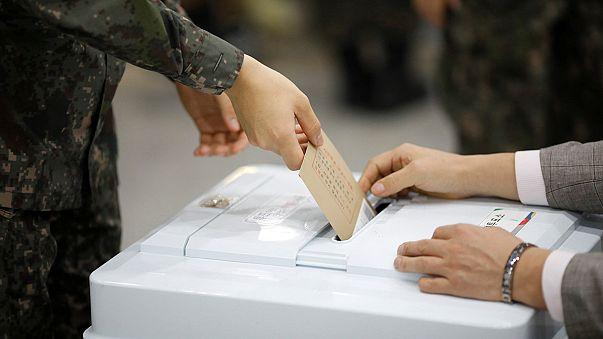 Eleições Presidenciais: Voto antecipado na Coreia do Sul