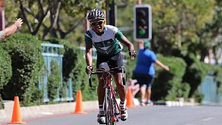Namibia mourns its top cyclist who died in a car crash