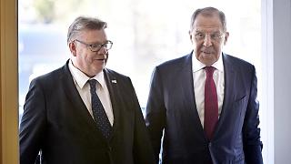 Russia's Lavrov in Finland to discuss NATO and Ukraine
