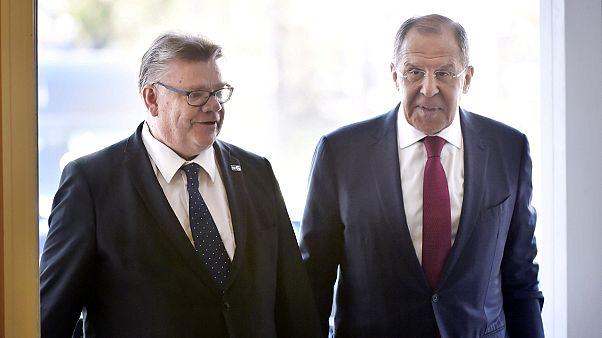 Lavrov/Soini: Finnországban tárgyal az orosz külügyminiszter