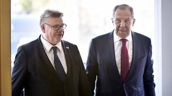 Lavrov visita Finlândia