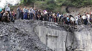 Iran coal mine blast traps dozens of miners