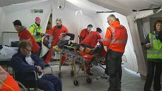 "EU civil protection stage ""real scale"" emergency response exercise"