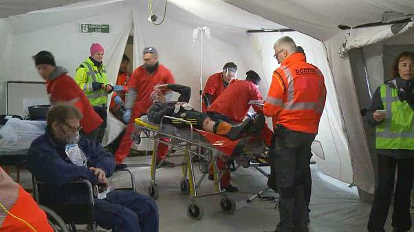 Proteção Civil de diferentes países treina em conjunto na Suécia