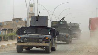 Kampf um Mossul: Irakische Truppen eröffnen neue Front gegen den IS
