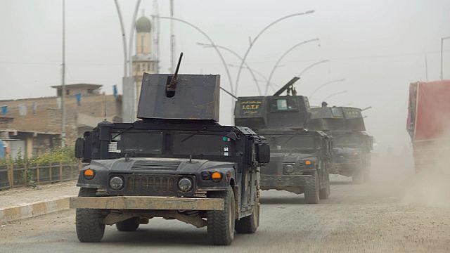 Új frontot nyitott az iraki hadsereg az Iszlám Állam ellen Moszulnál