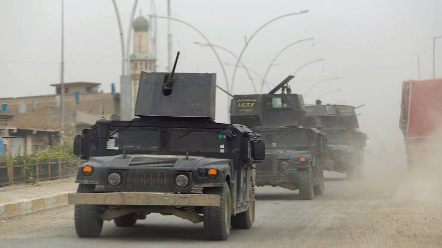 Iraqi army opens new front in the battle for Mosul