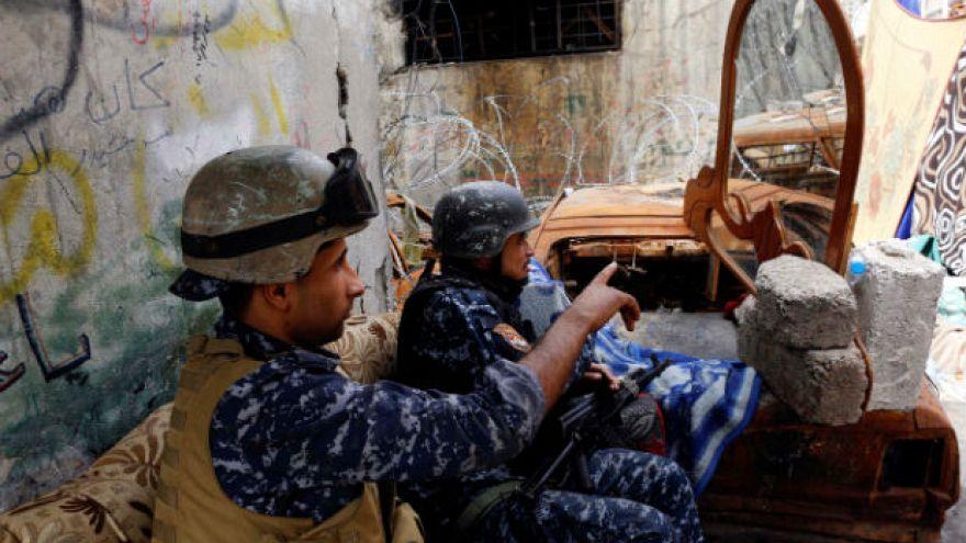 القوات العراقية تطلق عملية عسكرية جديدة غربي الموصل