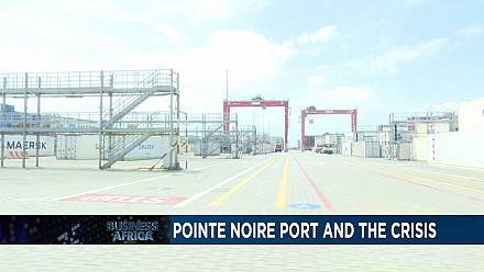Le port de Pointe-Noire au Congo résiste à la crise du pétrole