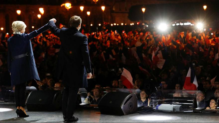 Франція: Емманюель Макрон - наймолодший президент в історії країни
