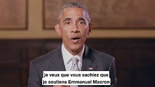Francia: Obama apoya a Macron un día después de un debate presidencial marcado por el caos