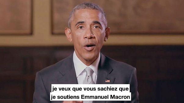 Obama soutient Macron