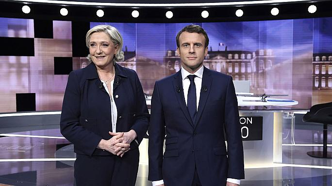El debate más tenso de la campaña francesa