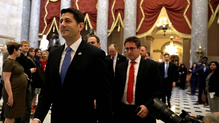 Healthcare victory for Trump in House of Representatives