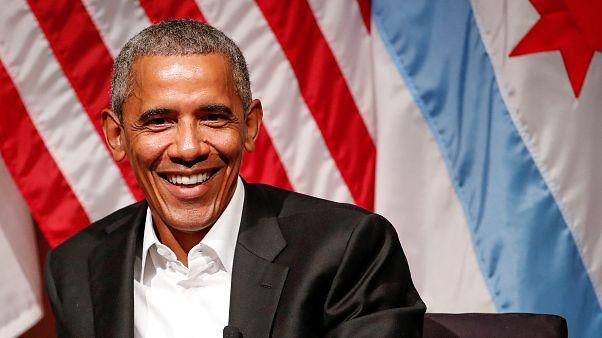 پیام ویدئویی باراک اوباما به مردم فرانسه در حمایت از امانوئل مکرون