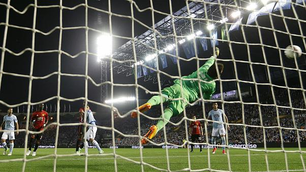 Rashford pone por delante al United en la eliminatoria de semifinales de la Europa League ante el Celta