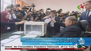 Algeria: 'Frail looking' Bouteflika casts his vote in legislative polls