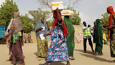Nigerian officials jailed for selling food aid