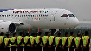 China pretende entrar no mercado da aviação com o C919