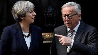 Перепалки: ЕС с Великобританией, Макрона с Ле Пен.