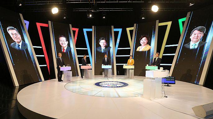 El centro izquierda favorito en las presidenciales surcoreanas