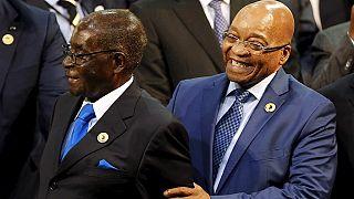 S. Africa's Zuma backs Mugabe's stance on 'highly developed' Zimbabwe