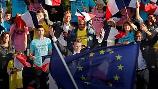 EU hopes for Macron win