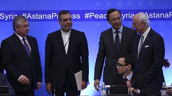 Rusia, Turquía e Irán establecen zonas seguras en Siria a pesar del boicot de la oposición