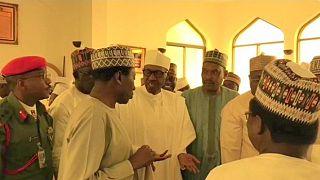 أول ظهور علني للرئيس النيجيري بعد أسابيع على غيابه