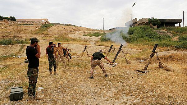 Irak Ordusu Musul'da açılan yeni cephede ilerliyor
