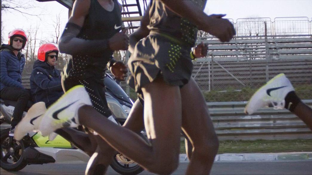 Kevesebb mint 2 óra alatt akarják lefutni a maratont