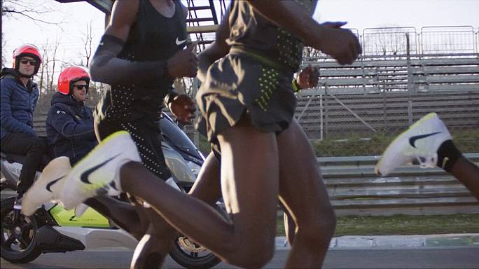 Nike will für einen neuen Marathon-Fabelrekord sorgen