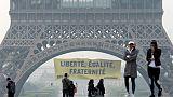 """السلام الأخضر """"غرين بيس"""" تقف ضد اليمين المتطرف في فرنسا"""