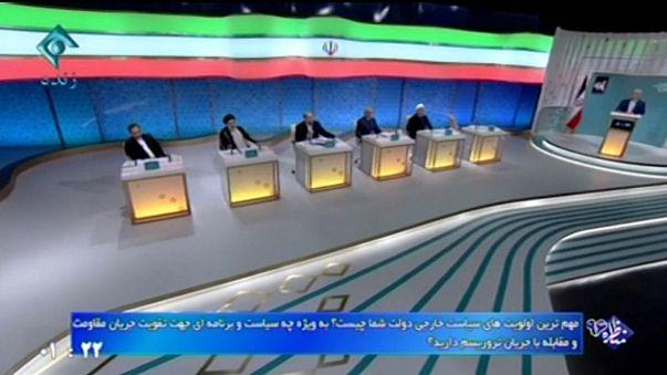 Iran: Fernsehdebatte der Präsidentschaftsbewerber kurz vor der Wahl